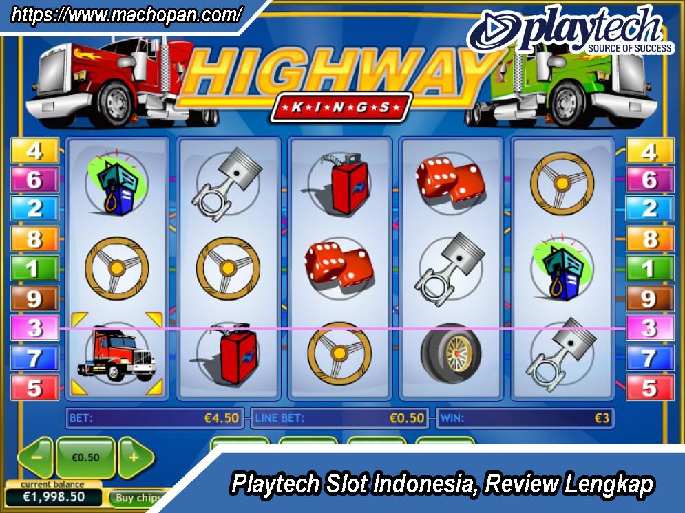 Playtech Slot Indonesia, Review Lengkap