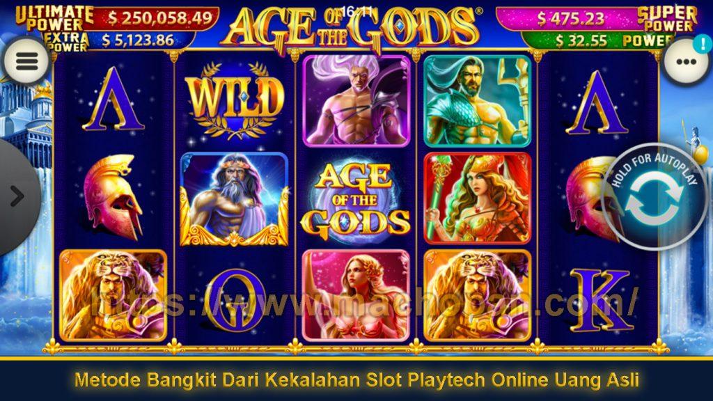 Metode Bangkit Dari Kekalahan Slot Playtech Online Uang Asli