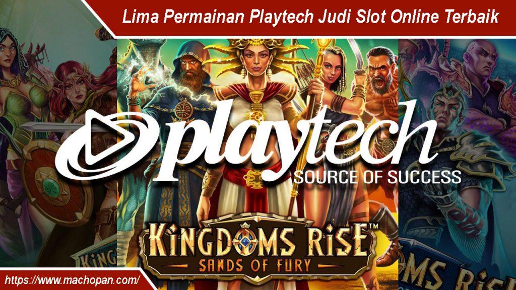 Lima Permainan Playtech Judi Slot Online Terbaik